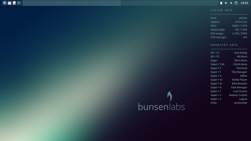 BunsenLabs 2